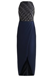 Lace And Beads Bobby Occasion Wear Navy Dark Blue