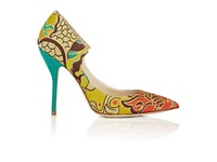 Paul Andrew Women's Manhattan Brocade Pumps No Color