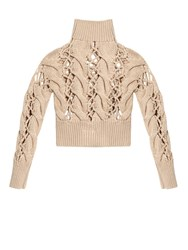 Maison Martin Margiela Chunky Cable Knit Sweater