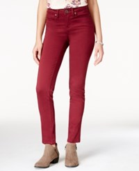 American Rag Colored Wash Super Skinny Jeans Only At Macy's Zinfandel