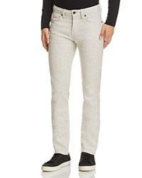 Naked And Famous Superskinny Guy Speckled Super Slim Fit Jeans In White