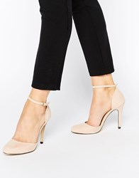 Blink Tilda Ankle Strap Heeled Shoes Nudemf
