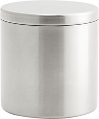 Cb2 Stainless Steel Canister With Lid