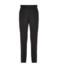 Richard James Hyde Wool Mohair Evening Trousers Black