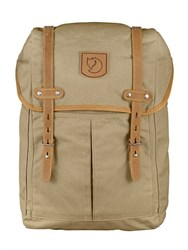 Fjall Raven Small No. 21 Canvas And Leather Backpack