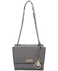 Guess Janette Convertible Crossbody Bag Grey