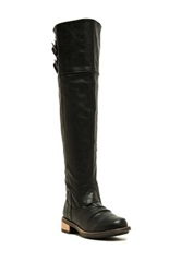 Qupid Relax Boot Black