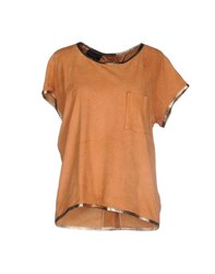 Atos Lombardini Shirts Blouses Women Orange