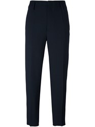 Forte Forte Tailored Cropped Trousers Black