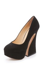 Charlotte Olympia Millicent Pumps Black