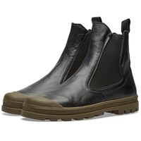 Stone Island Shadow Project Commando Chelsea Boot Black