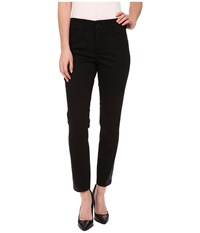 Nydj Amira Fitted Ankle In Black Black Women's Jeans