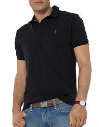 Polo Ralph Lauren Classic Fit Cotton Mesh Polo Black