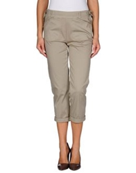 Annarita N. 3 4 Length Shorts Khaki