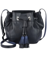 Nine West Take A Lift Crossbody Black Moody Blue