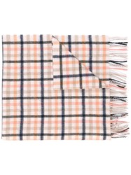 Paul Smith Checked Scarf Nude Neutrals