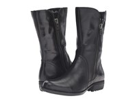 Born Ivory Black Full Grain Leather Women's Boots