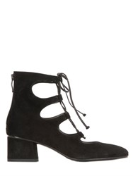 Janetandjanet Suede Lace Up Boots