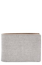 Men's Skagen 'Ambold' Bifold Wallet Grey Heather