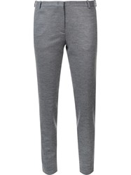 Fabiana Filippi Slim Fit Trousers Grey
