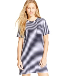 One Clothing Juniors' Chest Pocket T Shirt Dress