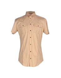 Dandg Shirts Shirts Men Sand