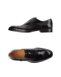 Sutor Mantellassi Lace Up Shoes Black