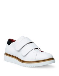 Liebeskind Leather Grip Tape Sneakers White