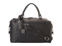 Frye Logan Overnight Black Antique Pull Up Satchel Handbags