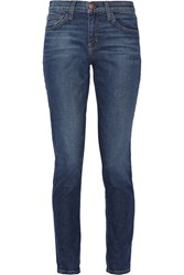Current Elliott The Mamacita High Rise Slim Boyfriend Jeans Mid Denim