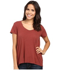 Project Social T Easy Tee Chestnut Women's Shirt Brown