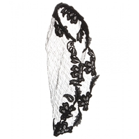 Dolce And Gabbana Lace Veil Black