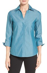 Foxcroft Women's Three Quarter Sleeve Shirt