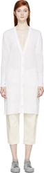 Rag And Bone White Sheer Noreen Cradigan