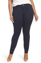 Addition Elle Love And Legend Plus Size Women's Supersoft Stretch Skinny Jeans Dark Wash Denim