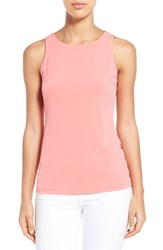 Women's Halogen Double Layer Tank Coral Sugar