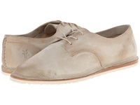 Frye Milly Oxford Cement Sunwash Nubuck Women's Lace Up Casual Shoes Khaki