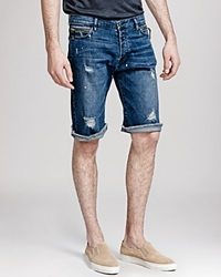 The Kooples Destroy Bermuda Shorts