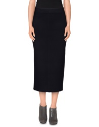 Strenesse Gabriele Strehle 3 4 Length Skirts Dark Blue