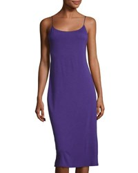 Natori Shangri La Nightgown Royal Purple