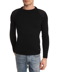 Armor Lux Navy Blue Military Sweater