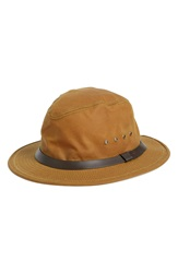 Filson Tin Cloth Packer Hat Men Tan