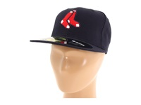 New Era Authentic Collection 59Fifty Boston Red Sox Alternate 1 Baseball Caps Black