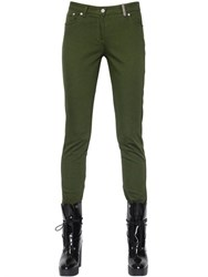 Kenzo Skinny Fit Cotton Twill Pants