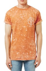 Topman Men's 'Forgotten' Graphic Acid Wash Muscle T Shirt