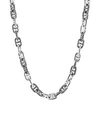 John Hardy Men's Classic Chain Silver Large Anchor Rode Link Necklace