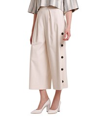 Sachin Babi Alpine Wide Leg Pants White