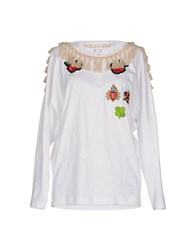 Happiness Topwear T Shirts Women White