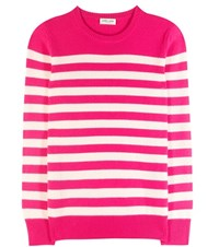 Saint Laurent Cashmere Sweater Pink