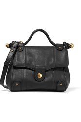 See By Chloe Dixie Textured Leather Shoulder Bag Black